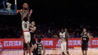 See Andrew Wiggins Posterize Andres Nocioni At The FIBA Americas Games