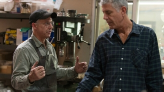 Anthony Bourdain Crafts A Blade From A Meteorite In His New Web-Series