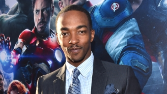 Anthony Mackie Defeated Chris Evans And Paul Bettany In A 'Civil War' Push-Up Contest