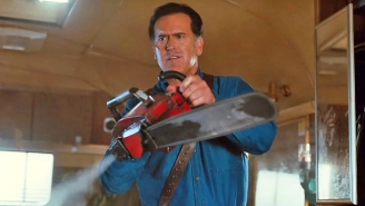 Bruce Campbell And His Boomstick Warm Up The 'Ash Vs Evil Dead' Audience With Time Travel Hints
