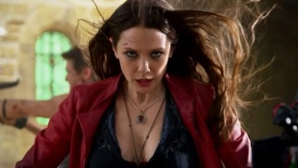 'Captain America: Civil War': Elizabeth Olsen Says Scarlet Witch Is The 'Wild Card'