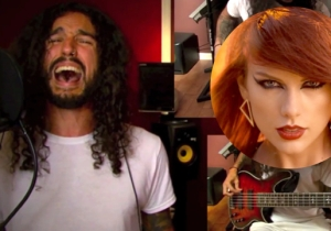 Taylor Swift's 'Bad Blood' Reimagined As A Disturbed Song Will Melt Your Face Off