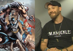 Tom Hardy Would Absolutely Love To Return As Bane And Beat Up Batman And Superman