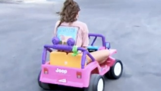 The Barbie Jeep College Girl Speaks Out: 'I Just Didn't Want To Walk To Class'