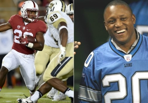 Barry Sanders' Son Showed He Has Football Moves Just Like His Daddy