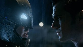 The 'Batman V Superman' Batmobile is now available for your personal inspection