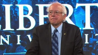 Bernie Sanders Reached Across Ideological Lines And Spoke At The Evangelical Liberty University