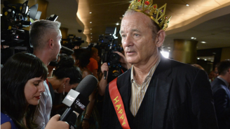 Wedding Toast Crashes And Other Stunts Only Bill Murray Can Get Away With