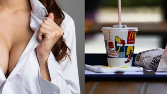 Of Course The Straws At Japanese McDonald's Were Designed To Work Like A Woman's Breast