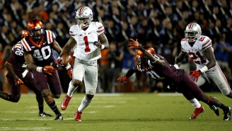 Braxton Miller Unleashed An Unreal Spin Move To Beat Two Defenders For A Touchdown