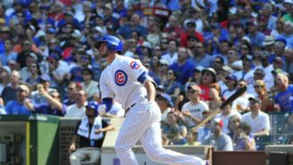 Watch Kris Bryant Tag Wrigley Field's Scoreboard With A Monstrous 495-Foot Home Run