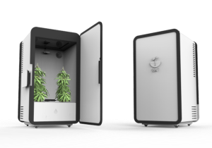 Now You Can Hide Your Pot Plants In This High-Tech Mini-Fridge