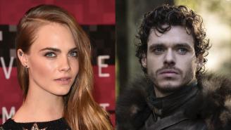 Cara Delevingne Responded To Robb Stark Calling Her 'Ungrateful'