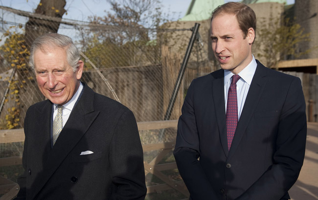 The Prince Of Wales And Duke Of Cambridge Attend 'United For Wildlife' Meeting