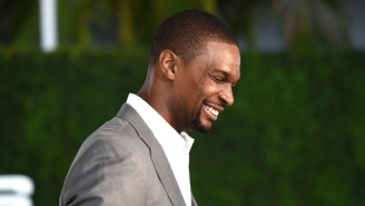 Chris Bosh Challenged The 'Late Late Show' Crew To A Game Of 1-On-30
