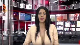 Meet The 21-Year-Old News Anchor Who Got Her Job Because Her Breasts Are Huge