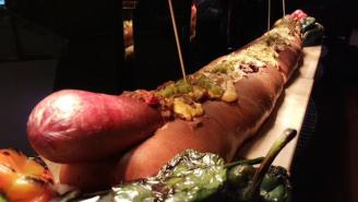 Texas A&M Has Rolled Out A 12-Pound Hot Dog, But Is It A Sandwich?