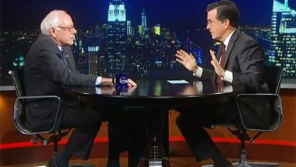 Stephen Colbert Will Interview Bernie Sanders In His Second Week On 'The Late Show'