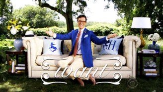 Stephen Colbert Proves He's A Powerful 'Tastemaker' By Launching His Own Lifestyle Brand
