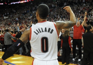 See Damian Lillard's Series-Clinching Game-Winner Vs. The Rockets From A New Angle