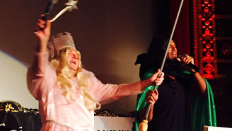 Daryl Morey And Shane Battier Sang A 'Wicked' Parody In Full Costume And It Was Incredible