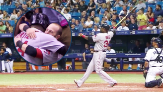 Watch David Ortiz Enter History By Launching His 500th Home Run