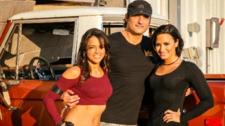Robert Rodriguez Is Directing Demi Lovato's Newest Video, And Here's Picture Proof