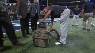 The Rams' Turf Caught On Fire During Their Player Introductions