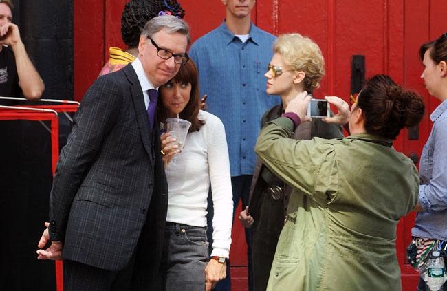 Celebrity Sightings In New York City - September 19, 2015
