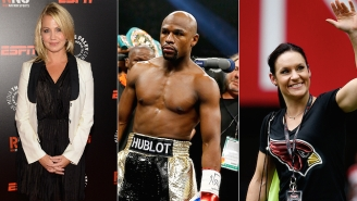 Floyd Mayweather Will Have Jen Welter In His Fight Entourage, And People Are Upset