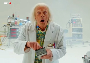 The 'Back To The Future' 30th Anniversary Set Will Include A New Doc Brown Short. Here's A Teaser.