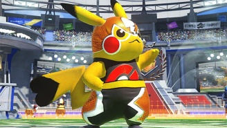 Pikachu Is An Adorable, Deadly Luchador In The Upcoming Pokémon Fighter 'Pokkén Tournament'