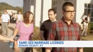 Rowan County's First Same Sex Marriage License Has Officially Been Granted