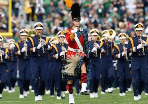 Notre Dame Had A Band Member Sing 'Uptown Funk' And It Didn't Go Well