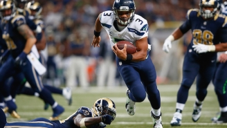 The Seahawks Lost Ironically, Then The Rams Trolled Russell Wilson On Twitter
