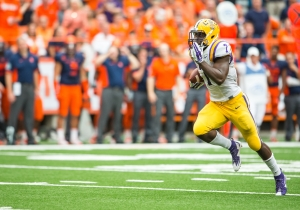 Leonard Fournette Had Yet Another Monster Game, This Time Against Syracuse