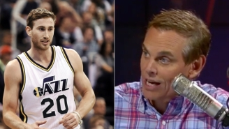 Utah's Gordon Hayward Just Owned Colin Cowherd After His Rant About eSports 'Dorks'