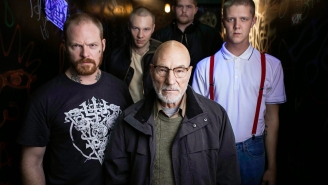 Review: Patrick Stewart rules the roost in the brutal siege film 'Green Room'