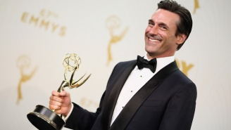 The Universe Finally Righted Itself By Giving Jon Hamm An Emmy