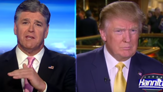 Donald Trump And Sean Hannity Compared The GOP Debate To WWE