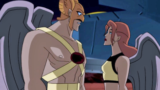 Get your first look at 'Legends of Tomorrow,' Hawkman and Hawkgirl, in costume!