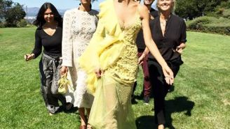 What Heidi Klum Looks Like Heading Off to the Emmys