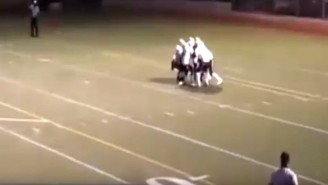 This Wacky Trick Play In A High School Football Game Actually Worked