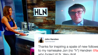 The Real John Hendren Was Amused By The Comedian Who Talked Edward Scissorhands On Cable News