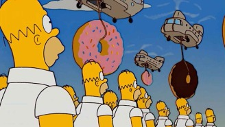 Proof That Homer Simpson's Love Affair With Donuts Is Out Of Control