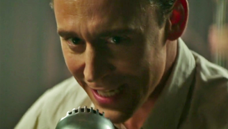 Pretend Tom Hiddleston is singing straight to you in first 'I Saw The Light' clip