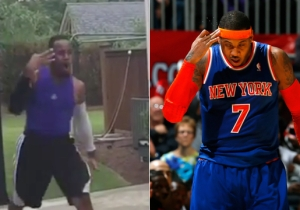 Watch The NBA Impersonator Ruthlessly Skewer Carmelo Anthony