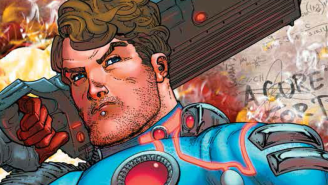 'Arrow' producer Marc Guggenheim breaks into original superheroes with JONAS QUANTUM comic