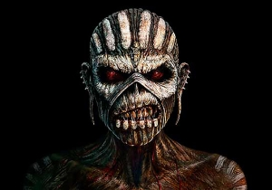 Lithuania Thinks Iron Maiden's Tour Poster Is Too Scary For Kids