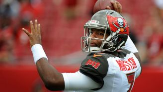 Here's A Pick-6 From Jameis Winston On His First Career NFL Pass